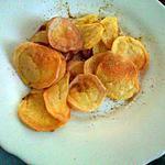 recette Chips sans matiere grasse au four