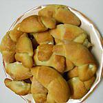 recette Mini croissants de Serbie au fromage (Kiflitza)