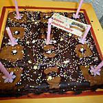 recette gateau d'anniversaire d'Anais