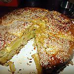 Moelleux épicé aux pommes et graines de sésame