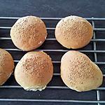 recette pains pour hamburgers maison