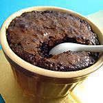 recette Petits pots macarones aux deux chocolats