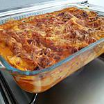 recette Mes lasagnes espagnol