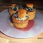 recette vol au vent d'escargot au riesling (recette du livre marmiton)