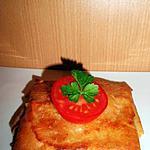 recette brick au thon et à la sauce tomate