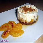 recette Cheesecake aux clémentines, speculos et miel