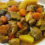 """recette """" Guisado de carne al Jerez...""""...( Râgout de viande al Jerez...)"""
