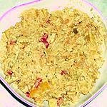 recette poelée de riz au poulet