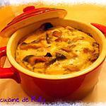 recette Cocottes poireau et champignons