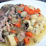 recette Ragoût de mouton bourgeoise