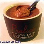 recette Mousse au chocolat au lait et fruit de la passion de Julie Andrieu