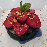 recette Riz au vinaigre framboisé et fraises à la menthe balsamique