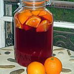 recette VIN D'ORANGES - Apéritif maison