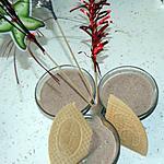recette Glace au mascarpone, chocolat et à la fleur d'oranger (ou au rhum et ses variantes....)