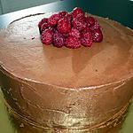 recette Layer Cake chocolat ,nutella,framboise