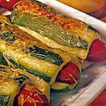recette Hot dog de courgettes