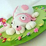 recette Gateau à l'ancienne au chocolat (gateau d'anniversaire chien pour les 1an de margot)