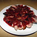 recette Magrets de canard poêlés avec sauce aux framboises