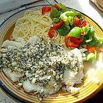 recette Cabillaud poêlé avec sauce au basilic