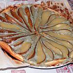 recette Tarte aux poires et roquefort