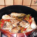 recette Poulet à la basquaise