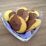 recette madeleines mi-choco