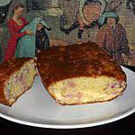 recette CAKE AU JAMBON ET AU COMTE