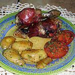 recette pilons de poulet au jambon cru