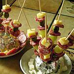 recette MERCI KEKELI apero sympa pour l'anniversaire de ma fille