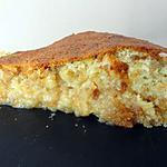 recette Gâteau crousti moelleux choco blanc - coco