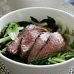 recette Pho, soupe de nouilles vietnamienne