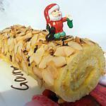 biscuit roulé de noël