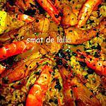 recette PAËLLA AU LANGUE D'OISEAU