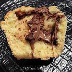 recette Petits gâteaux fleur d'oranger coeur choco