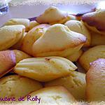 recette Madeleines au citron de Cyril Lignac