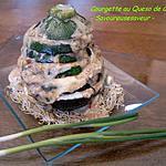recette Courgette en Millefeuille de Queso de Cabra