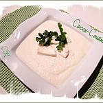 recette Créme de chou fleur et  lamelles de gorgonzola mascarpone