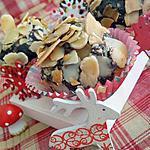 recette Truffes au chocolat et amandes