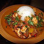 recette Curry de poulet très épicé