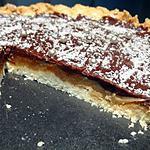 recette Tarte coco , caramel aux 4 épices et chocolat