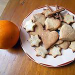 recette SABLES ORANGE CANNELLE