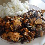 recette Saumon gong bao (à la sichuanaise)