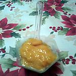 recette Sorbet à la mangue Péï