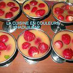 recette Fraises au jus d`orange et à la menthe