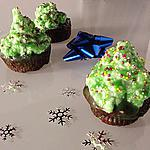 recette Christmas High Hat Cupcakes