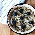 recette Fausse pissaladière sans anchois