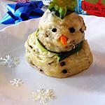 recette Bonhomme de neige salé