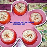 recette Tomates farcies à la macèdoine
