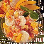 recette Salade de fruits exotiques crémeuse