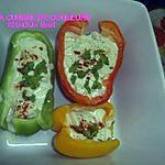recette Barquettes de poivrons au yaourt